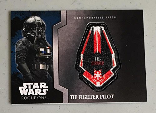 MultiSport MultiSport 2016 Topps Star Wars Rogue One Commemorative Patch #6 The FIghter Pilot NM Nea