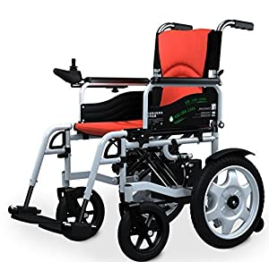 Fashion Folded electric Power Wheelchairs for disabled and elderly people(LiON battery)