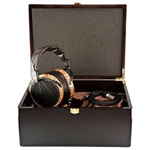 AUDEZE LCD-3 with wooden box ヘッドホン 平面磁界全面駆動型 AUD-0972