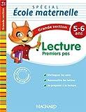 Lecture premier pas Spécial école maternelle Grande section (GS : 5-6 ans)