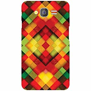 Design Worlds Samsung Galaxy Grand 2 Back Cover - Colorful Designer Case and Covers