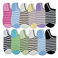 DZSbestdeal Womens 12 Pairs Cotton E…