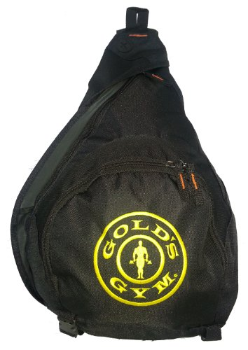 G967 Golds Gym Teardrop Sling Pack Gym Bag