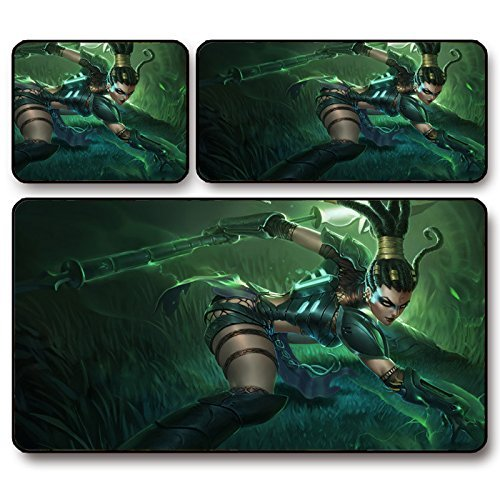 Huntress Nai Deli wild femmina, motivo LOL mouse pad thickening League grande, 75 x 40 x 0,3 cm