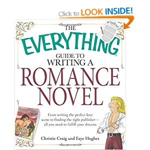 Image: Cover of The Everything Guide to Writing a Romance Novel