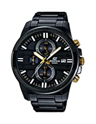 Casio Edifice Analog Black Dial Men's Watch - EFR-543BK-1A9VUDF(EX...