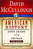 Image of David McCullough American History E-book Box Set: John Adams, 1776, Truman, The Course of Human Events