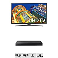 Samsung UN70KU6300 70-Inch TV with BD-J7500 Blu-ray Player