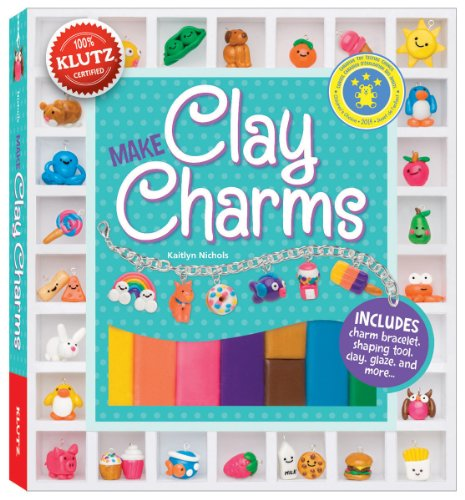 Klutz Make Clay Charms Craft Kit