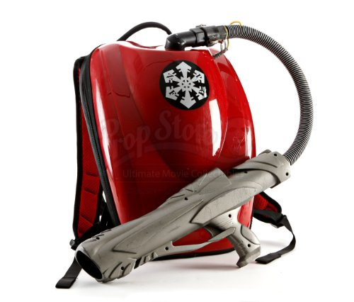 Original Movie Prop - The Santa Clause 3 - NPFD Fire Extinguisher Backpack - Authentic -shop for Blu-ray, DVD, and Movie-themed products
