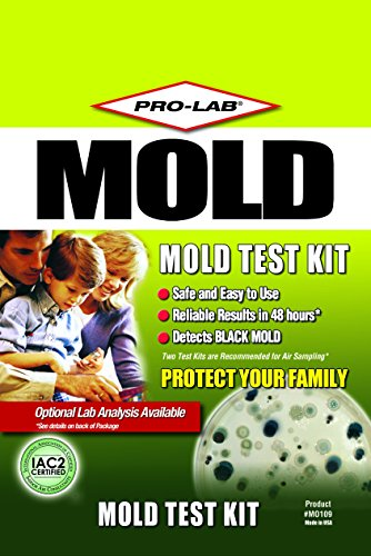 Pro lab mo109 mold do it yourself test kit home garden fire gas safety radon detectors - The office radon test kit ...