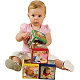 CP Toys 4 pc. Foam Stacking Blocks with Photo Pockets for All Ages