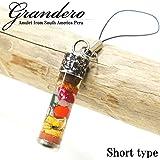 グランデーロ 南米ペルーから幸運のお守りグランデーロストラップ キーホルダー ショート ラッキーアイテム お守り