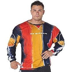 BIG SAM Sweater Sweatshirt Jacket Hoody UNCLE BODY DOG Logo *4535*