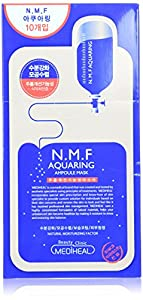Mediheal Korea Aqua Ring Ampoule Essential Mask Box, 10 Sheet