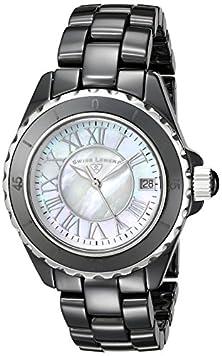 buy Swiss Legend Women'S 20050-Bkwsr Karamica Collection Black Ceramic Watch