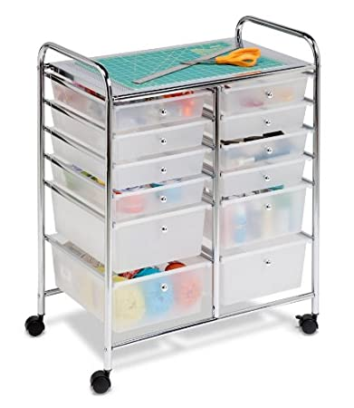 Honey-Can-Do Studio Organizer Cart