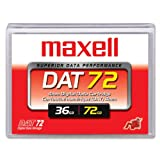 Maxell 22896700 DAT72 170m 4mm 36/72GB Tape Cartridge