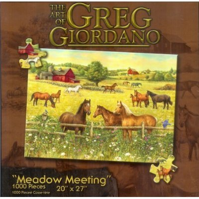 Meadow Meeting 1000pc Jigsaw Puzzle