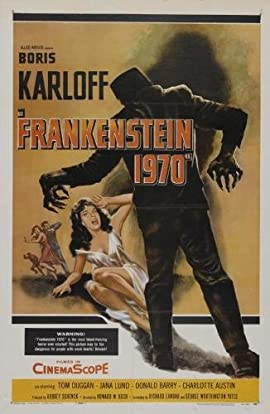 Frankenstein 1970 Movie Poster #01 24x36