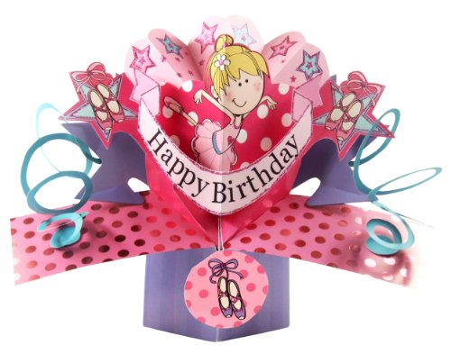 Second-Nature-Tarjeta-de-felicitacin-para-cumpleaos-diseo-en-3D-con-texto-en-ingls-Happy-birthday