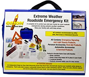 Orion Safety Products 8902 Extreme Weather Roadside Emergency Kit