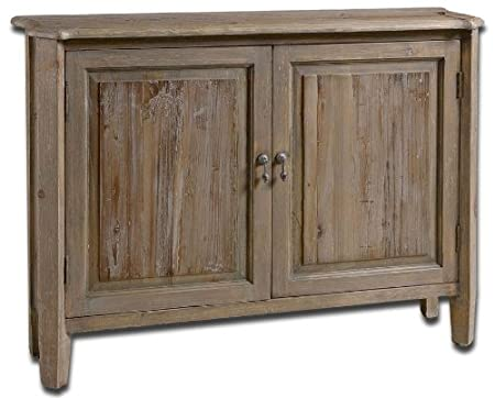 High Pointe Furnishings, Allete Reclaimed Wood Console Cabinet