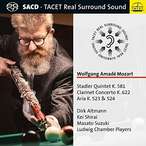 SACD : MOZART / ALTMANN / LUDWIG CHAMBER PLAYERS - Stadler Quintet 581