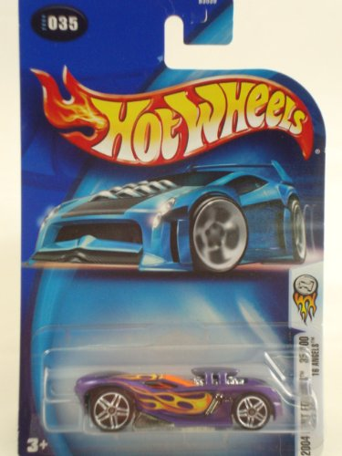 Mattel Hot Wheels 2004 First Editions 1:64 Scale Purple 16 Angels 35/100 Die Cast Car #035 - 1