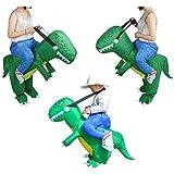Segolike Inflatable Constume Dinosaur Riding Unisex Kids Fancy Dress Suit Photo Prop