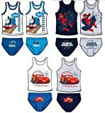 Boys Vest and Pants / Briefs / Slips / Underwear Sets - Character Designs - 100% Cotton