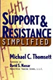 img - for Support & Resistance Simplified by Thomsett, Michael (2003) Paperback book / textbook / text book