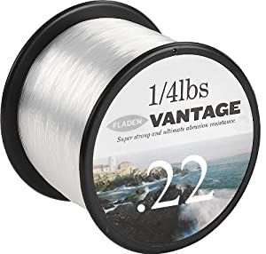 Fladen Vantage Pro Fil de pêche 2,7 kg / 2410 m Transparent 2410 m