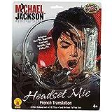 8eighteen Rubie's Michael Jackson Microphone Headset Mic Costume Accessory Toy Prop