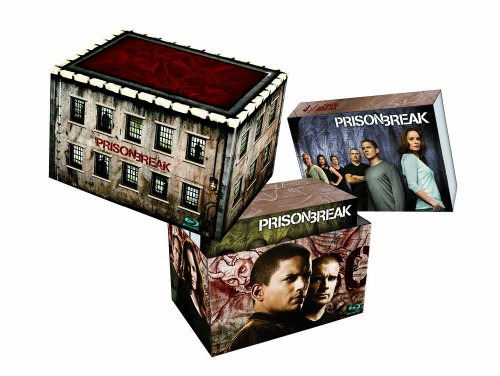 Prison Break - Complete Box (23 Discs incl. Final Break - exklusiv bei Amazon.de) [Blu-ray]