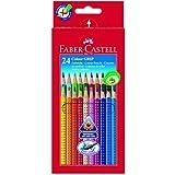 """Faber-Castell 112424 - Farbstifte Colour GRIP 2001, 24er Kartonetuivon """"Faber-Castell"""""""