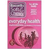 Bassett's Soft & Chewy Everyday Health Multi Vitamins - Blueberry & Lycopene Flavour 30 Pastilles