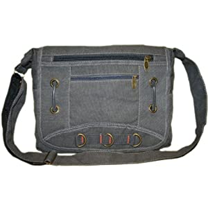 New York Cross Body Messenger Canvas Shoulder Bag 58