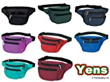 Yens® Fantasybag 3-Zipper Fanny Pack, FN-03