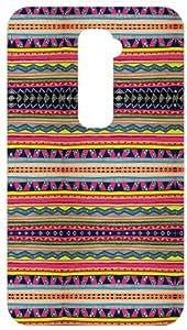 GHHORIZONTAL Tribal Pattern White Back Cover Case for LG Optimus G2