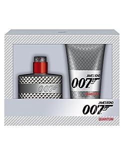 James Bond Quantum Eau de Toilette Spray and Shower Gel Gift Set for Men 50/150 ml