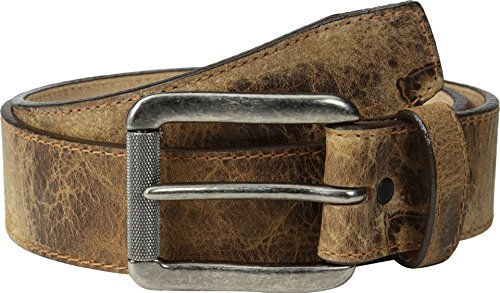 Justin Men's Tailgunner Leather Belt Tan 38 (Justin Western Belts compare prices)