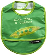 Give Peas A Chance Bib By Crocodile Creek