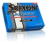 SRIXON AD333 WHITE GOLF BALLS. ONE DOZEN