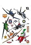 Planes Disney Décoration Sticker Adhesif Mural Géant Répositionnable...