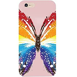 Casotec Butterfly Abstract Colorful Pattern Design Hard Back Case Cover for Apple iPhone 6 Plus / 6S Plus