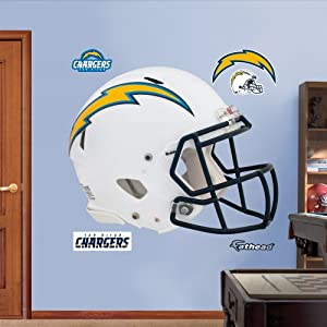 NFL San Diego Chargers Helmet Wall Graphics by Fathead