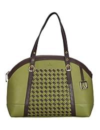 Adamis Beautiful Designed Handbag (Green_B717)