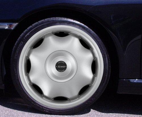 Radkappen RIWA silber 15 Zoll Fiat 500, Bravo, Brava, Doblo, Grande Punto, Evo, Idea, Linea