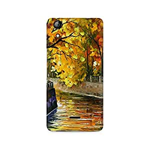 Mobicture Nature Abstract Premium Designer Mobile Back Case Cover For Micromax Canvas Selfie 2 Q340